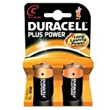 Duracell–batteries- C 2pk