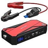 600A 18000mAh Tragbare Auto Starthilfe, Autobatterie...