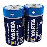 VARTA Longlife Power Batterie (C Baby, Alkaline, LR14,...