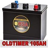 BSA 6V 105Ah Oldtimer Batterie Autobatterie für...