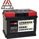 LANGZEIT Autobatterie 12V 65Ah ersetzt 55Ah 56Ah 60Ah...