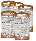RAYOVAC Hörgeräte-Batterien 312 Extra Advanced 1,45V...