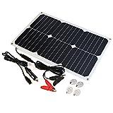 ALLPOWERS Solar Batterie Maintainer 18V 12V 18W Solar...