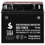 Motorrad Batterie 51913 AGM 19Ah 12V 280A/EN BMW mit...