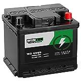 WINTER Premium Autobatterie 12V 44Ah statt 42Ah 45Ah...
