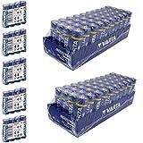 100 x Varta 04006 Batterien Alkaline, Mignon, AA, LR06,...