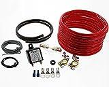 Trennrelais DTRL180/12 Einbauset mit AWG 8 Kabel von...