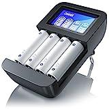 CSL - Universal Batterie Ladegerät | Typ AA oder AAA...