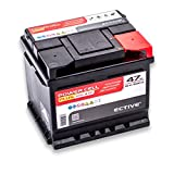 ECTIVE 47Ah 500A EPC PLUS-Serie 12V Autobatterie in 8...