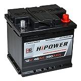 HR HiPower Autobatterie 12V 46Ah 380A/EN...