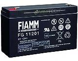 Original FIAMM FG11201 Akku 6V 12Ah Bleiakku Blei Gel...