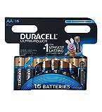 Duracell Ultra Power Typ AA Alkaline Batterien, 16er...