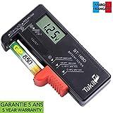 TAKIT Batterietester Digital Für AA, AAA, C, D, PP3,...