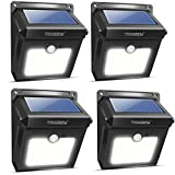 4Pack 28 LEDs Solarleuchten für Aussen, Neloodony [400...