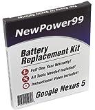 Akku-Austausch-Kit für das Google Nexus 5 und LG Nexus...