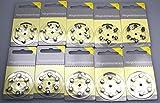 Hörgeräte Batterien Größe 10er (gelb) 60 Stück