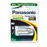 Panasonic Akku Mignon AA Ni-MH Rechargeable Evolta -...
