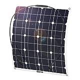 Giaride Solarmodul 18V 12V 50W Solarpanel...
