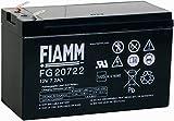FIAMM Akku als Ersatz für Batterie FG20722 12V 7.2Ah...