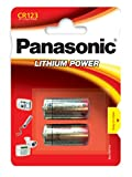 Panasonic CR-123A Kamera Batterie Lithium (VE2)