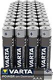 VARTA Power on Demand AAA Micro Batterien (40er Pack...