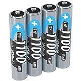 ANSMANN NiMH Micro AAA Akkus 1,2V, Typ Battery 1100mAh,...