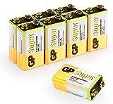 9v Batterien 9V Block (6LR61, MN1604, E-Block, 9 Volt)...