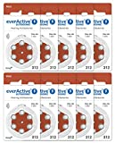everActive 312, 60 Stück, Hörgerätebatterien, hohe...