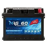 NRG Premium Autobatterie 12V 60Ah ersetzt 53AH 55AH...