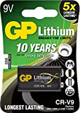 GP Batterie Lithium (9 Volt E-Block, CR-V9) 10 Jahres...