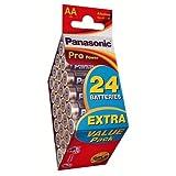 Panasonic Pro Power Batterie Mignon/AA/LR6 (24-er Bonus...
