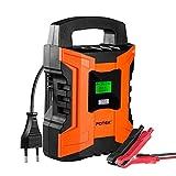 POTEK 2A/6A/10A 7-Schritt Smart Batterieladegerät...
