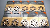 Hörgeräte Batterien 60 Stück(10x 6) Hörex Basic,...