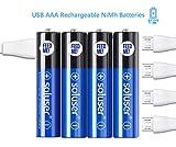 Wiederaufladbare AAA Akku Batterien, Wiederaufladbare...
