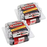 ANSMANN Alkaline Batterie Mignon AA/LR06 1.5V/Longlife...