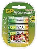 GP ReCyko + Paco 4 wiederaufladbare AA-Batterien der...
