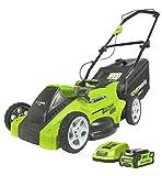 Greenworks Tools 40V Akku-Rasenmäher 40cm inklusive...