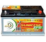 Solarbatterie Adler Sunrise 12V 100Ah C100 Batterie...