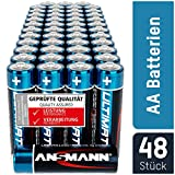 ANSMANN Batterien AA 48 Stück - Alkaline Mignon...