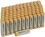 AmazonBasics Alkalibatterien, leistungsstark, AA, 100...