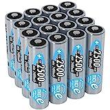 ANSMANN wiederaufladbare Akku Batterien Mignon AA 1...