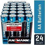 ANSMANN Batterien AA 24 Stück - Alkaline Mignon...