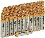 AmazonBasics Alkalibatterien, leistungsstark, AAA, 100...
