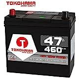 Tokohama Asia Japan Autobatterie 12V 47AH 460A/EN +...