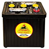 Panther Oldtimer-Batterie 6V 84Ah Autobatterie 08411...
