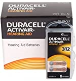 Duracell Easytab DA 312 - für alle Hörgeräte mit...