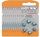Rayovac 13 Extra 60x Advanced Hearing Aid Batteries...