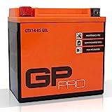 Batterie 12V 14Ah Gel GP-Pro (TYP - GTX14-BS / ähnlich...