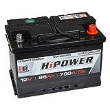 HR HiPower Autobatterie 12V 85Ah 780A/EN...