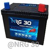 NRG Starterbatterie 30Ah Rasentraktor Aufsitzmäher...